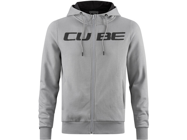 Cube Zip Hoody Cube Men grey